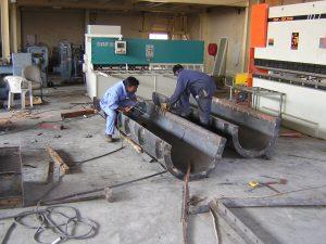 precast mold for in-situ casting of columns jlt project dubai - precast concrete molds by xl molds