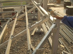 ROOF TILE FIXING FRAMES-FABRICATION SUPPLY AND FIX
