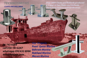 MARINA STAINLESS STEEL-CLEATS-BOAT BITTS SUPPLIERS-DUBAI